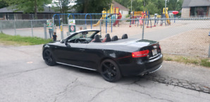 AUDI S5 CONVERTIBLE *115000KM**V6 3.0 SUPERCHARGED