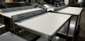 Brand New Stainless Steel Butcher Tables(Heavy 16 Guage)