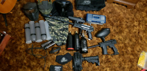 Full Paintball Setup PRICE REDUCED