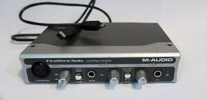 Firewire Solo Audio Interface