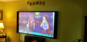 85 inch projector screen and viewsonic pjd5122 projector