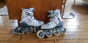 Ladies K2 rollerblades
