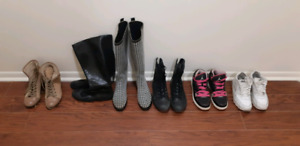 Moving sale- Kitchen Stuff, books, shoes, boots, boxing gloves,