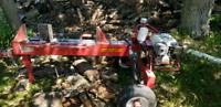 Log splitter rental
