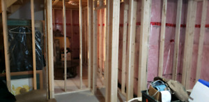 Home renos and basement finishing