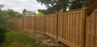 NEW FENCE, DECK INSTALLATIONS AND REPAIRS