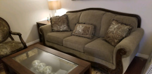 Ashley's Sofa Set