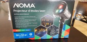 Projecteur noel d étoiles laser noma