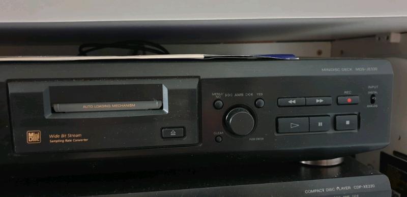 Sony mds-je330 minidisk | in Walton, Merseyside | Gumtree