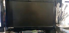 TV technica 22 inch DVD