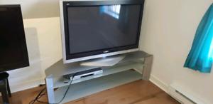 Télé plasma avec meuble