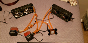 PC watercooling parts