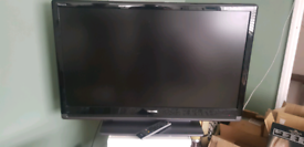 "41"" lcd TV Toshiba regza"