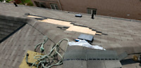 Roofing services and repairs, vent installations