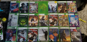 Xbox 360 Games for Sale ! Price lowered !