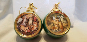 Kitten Expedition Ornaments