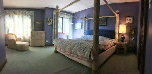 5 piece King Size Bed and Bedroom Set