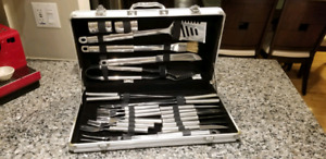 Grand chef ustensiles pour bbq / bbq utensils and tools