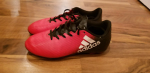 Adidas soccer shoes size 2