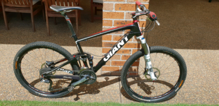 Giant anthem X advanced SL1 mountain bike cycling carbon dual sus Wilberforce Hawkesbury Area Preview