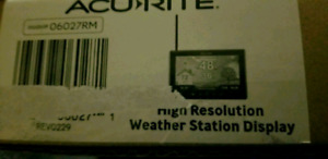 AcuRite High Resolution Weather Station Display