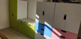 Ikea Stuva Malad storage furniture kids child bedroom playroom