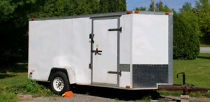 Trailer. 2010 Enclosed trailer 12'x 6'x 6'