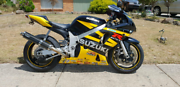 Suzuki GSXR 600 2003 model Pakenham Cardinia Area Preview