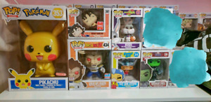 "Funko Pikachu 10"", DBZ exclusives and others"