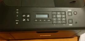 Multifunction printer with wireless LAN module