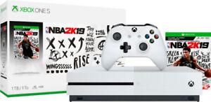 Brand new unopened Xbox One S - NBA2K19 Bundle