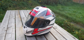 Takachi motorcycle helmet good condition
