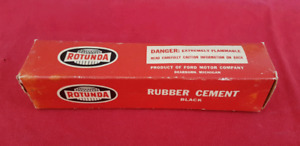 NOS ? FORD ROTUNDA Rubber Cement w/ Box THUNDERBIRD MUSTANG