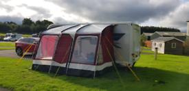 Outdoor revolution compactalite caravan awning