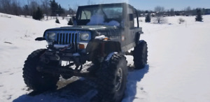 Jeep yj hors route