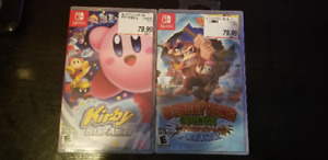 BRAND NEW Switch Games NEUF - Donkey Kong Country Tropical - Kir