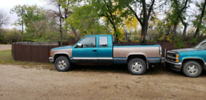 Chevy 4x4 and GMC 1/2 ton for sale