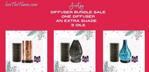 Today's last day to order scentsy diffuser bundle deal