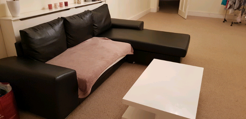 Tremendous Black Corner Sofa Good Deal In Clifton Bristol Gumtree Forskolin Free Trial Chair Design Images Forskolin Free Trialorg