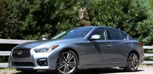 Location d'auto / Rent a car INFINITI Q50 S HYBRIDE AWD