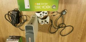 XBOX 360 comes W games