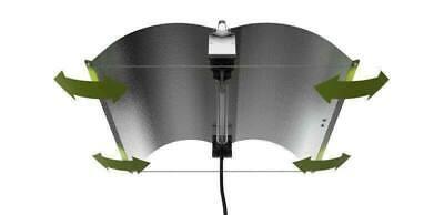 Hydroponics XLARGE FlexWing Double Ended reflector lighting light fixture indoor