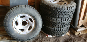 265/70r16 tacoma/4runner winter rims and tires