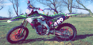 2009 Kx250f with ownership