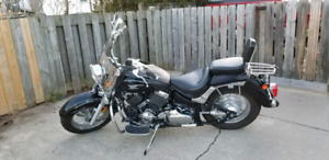 2007 Yamaha V-Star 650 Classic with silverado package