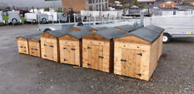 Top quality wooden dog kennels