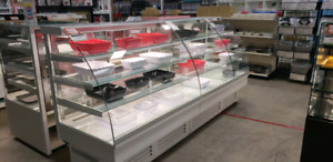 PASTRY CASES REFRIGERATED AND DRY