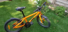 Frog bike 48, orange, good condition