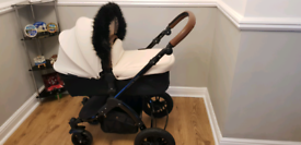 Ickle Bubba Stomp V3 Full Travel System inc isofix base and car seat