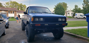 Pickup 4x4 nissan 720 1985 mint condition